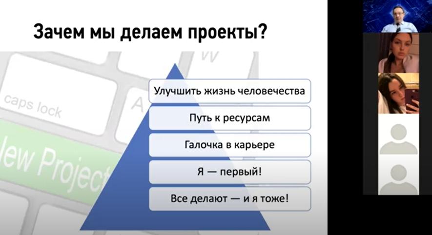 Как сделать хороший проект. Семинар в ЦМИТ ИПУ РАН 18 ноября 2020-го года